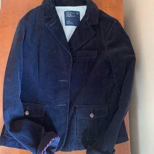 American Eagle dark navy blazer
